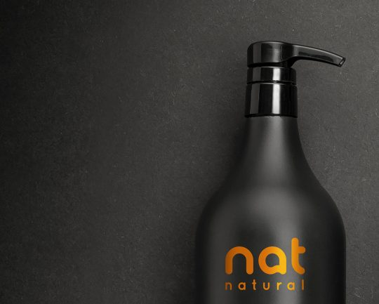 nat natural (visual identity and packaging design)